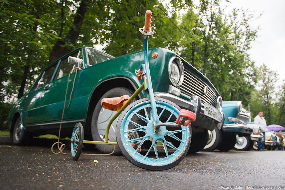 Retro Fest: 3rd festival of retro cars and antiques in Sokolniki Park - 20