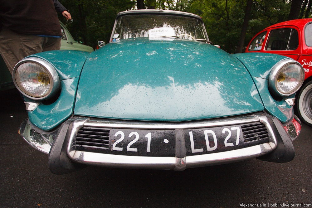 Retro Fest: 3rd festival of retro cars and antiques in Sokolniki Park - 22