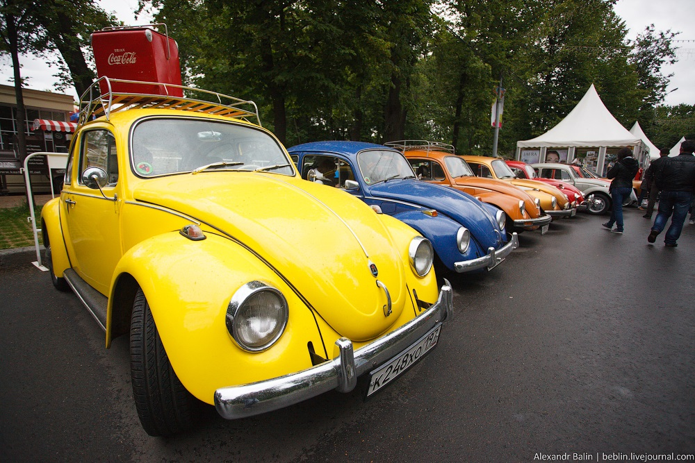 Retro Fest: 3rd festival of retro cars and antiques in Sokolniki Park - 25