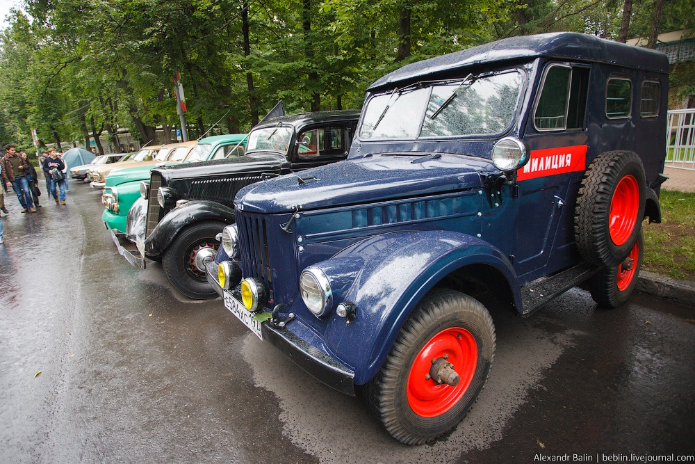 Retro Fest: 3rd festival of retro cars and antiques in Sokolniki Park - 28