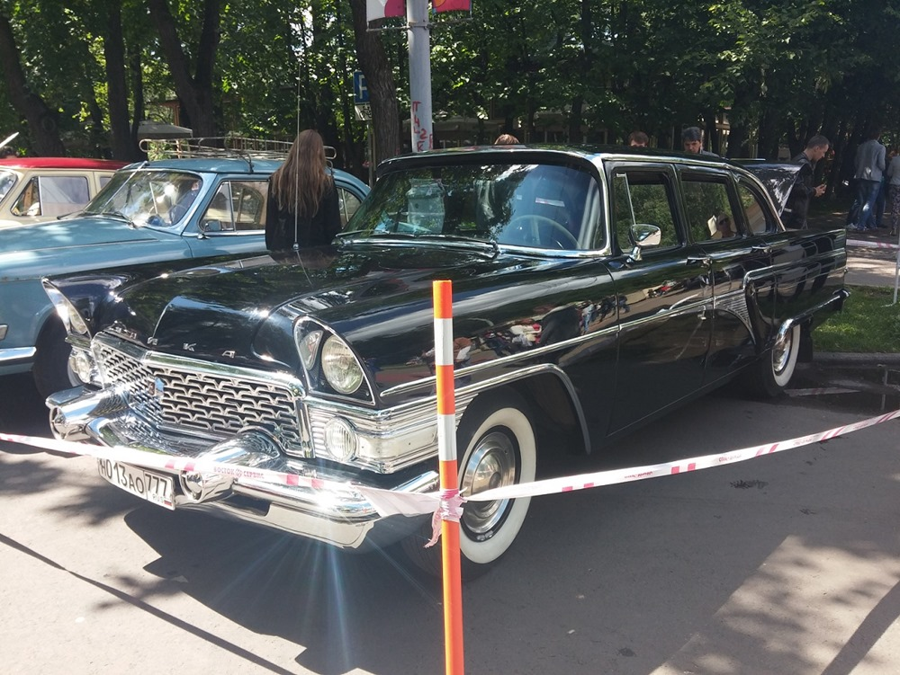 Retro Fest: 3rd festival of retro cars and antiques in Sokolniki Park - 47