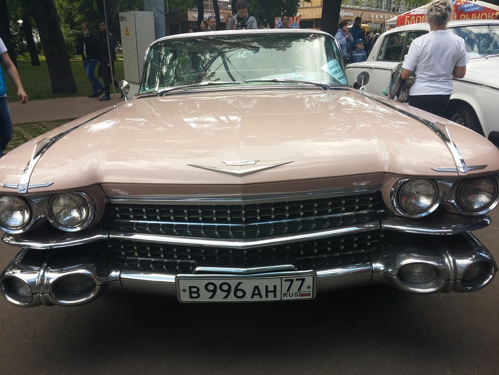 Retro Fest: 3rd festival of retro cars and antiques in Sokolniki Park - 49