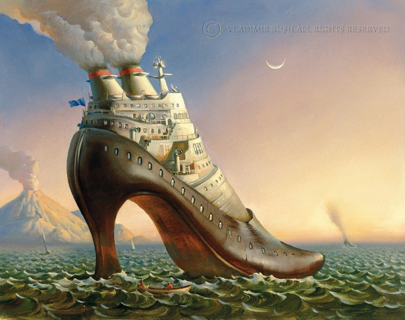 Russian Salvador Dali: Surrealistic paintings by Vladimir Kush - 17