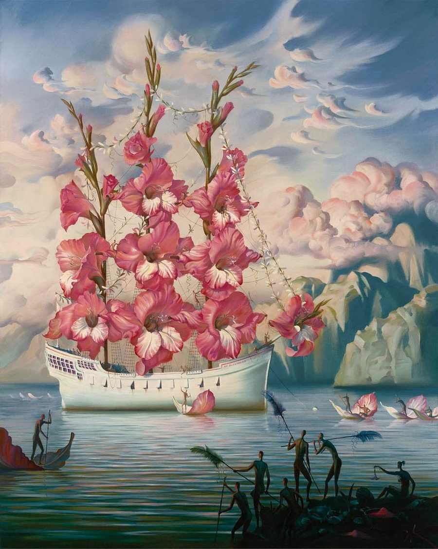Russian Salvador Dali: Surrealistic paintings by Vladimir Kush - 43
