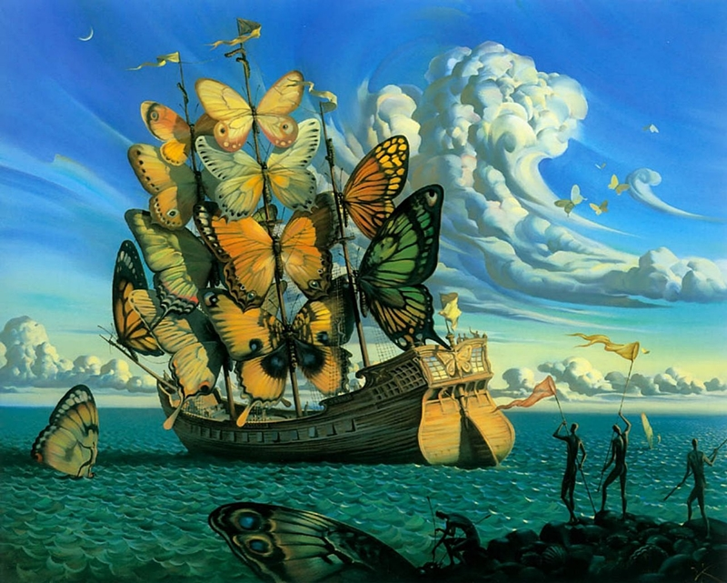 Russian Salvador Dali: Surrealistic paintings by Vladimir Kush - 49