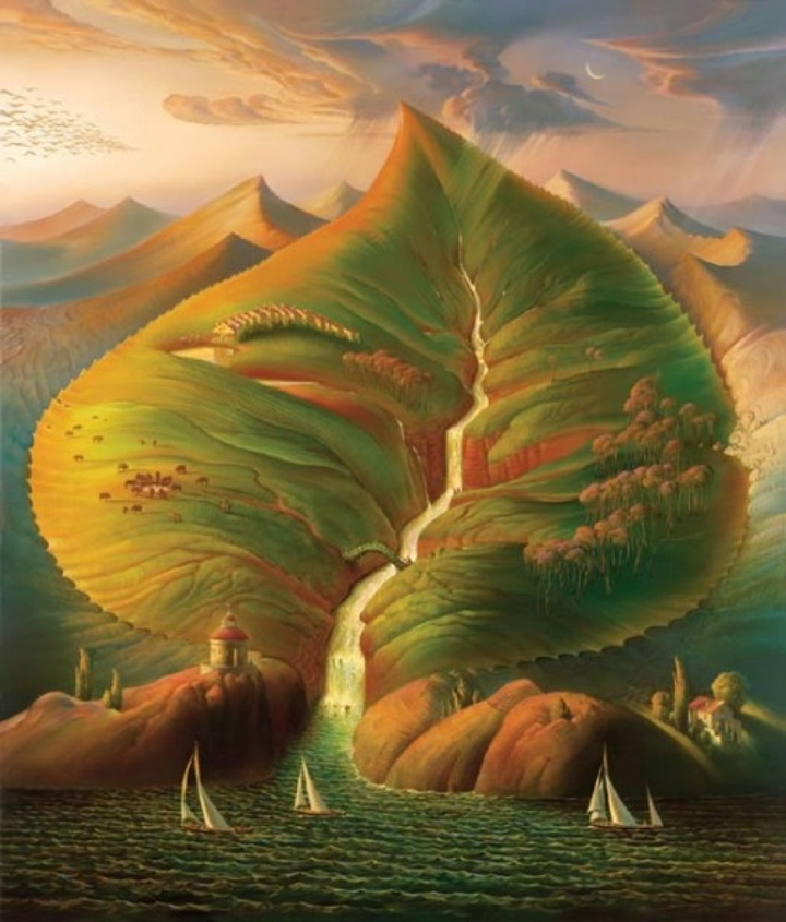 Russian Salvador Dali: Surrealistic paintings by Vladimir Kush - 50