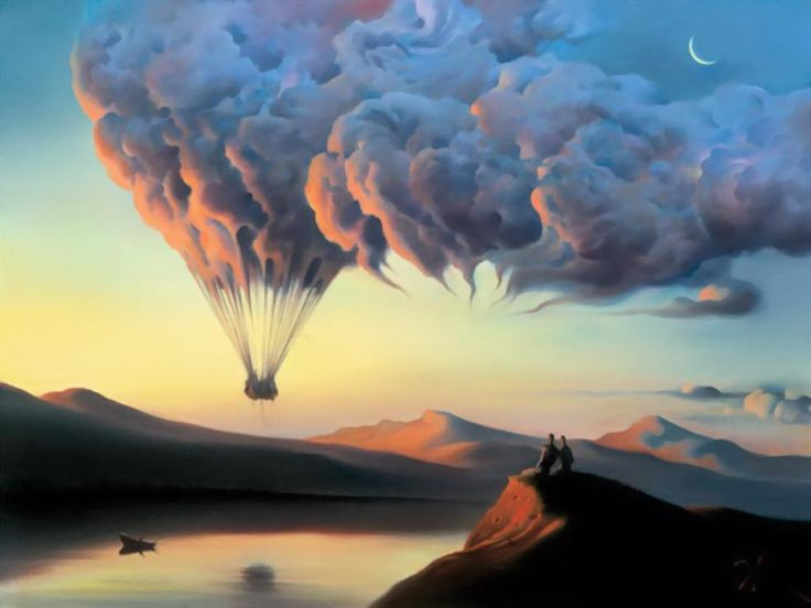 Russian Salvador Dali: Surrealistic paintings by Vladimir Kush - 51