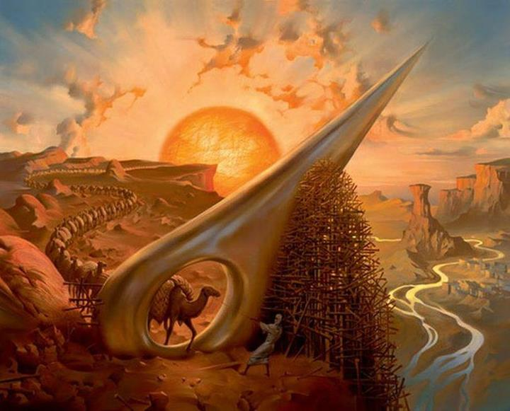 Russian Salvador Dali: Surrealistic paintings by Vladimir Kush - 64