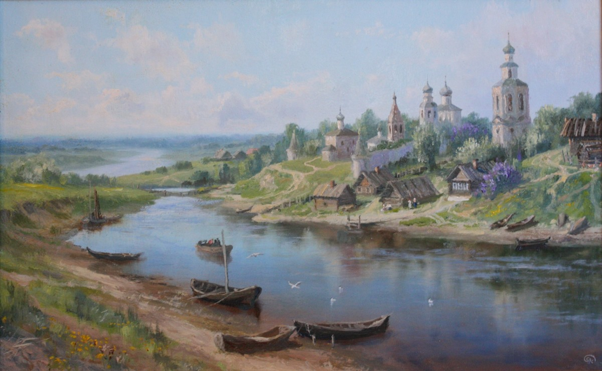 Russian soul: Pictures of Russian peasant life by Vladimir Zhdanov - 44