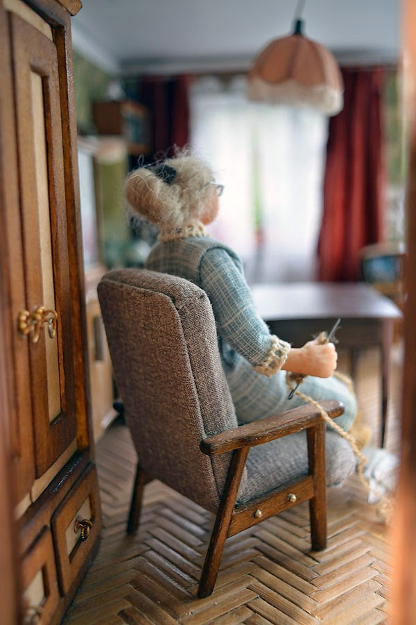 Soviet Russia in miniature: A model of a grandma's flat from 1970s - 01