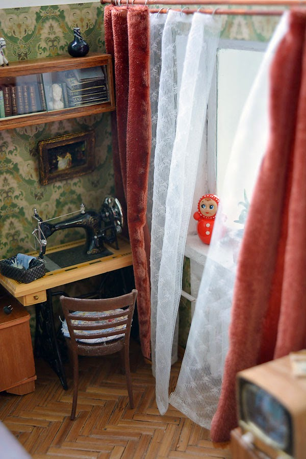 Soviet Russia in miniature: A model of a grandma's flat from 1970s - 10