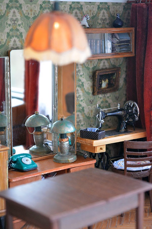 Soviet Russia in miniature: A model of a grandma's flat from 1970s - 11