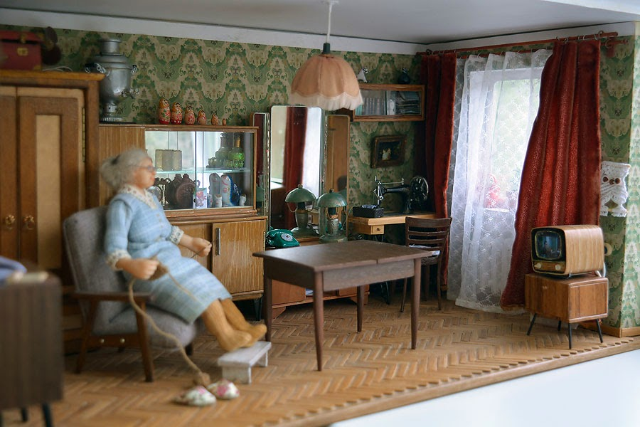 Soviet Russia in miniature: A model of a grandma's flat from 1970s - 15