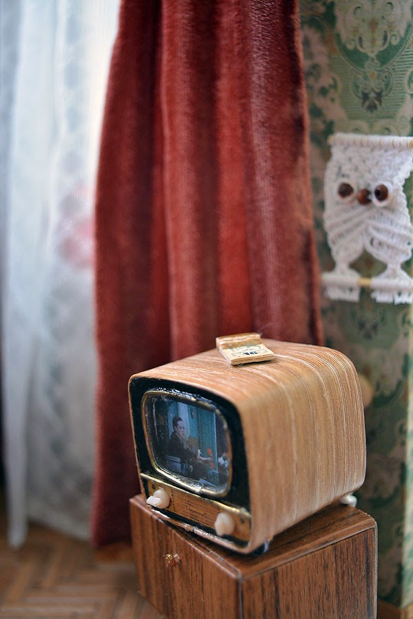 Soviet Russia in miniature: A model of a grandma's flat from 1970s - 19