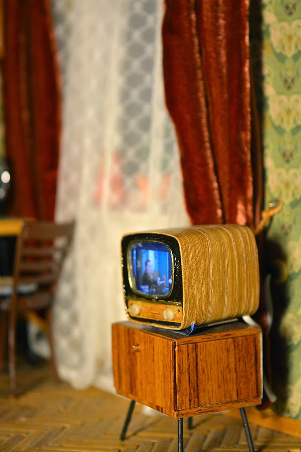 Soviet Russia in miniature: A model of a grandma's flat from 1970s - 20