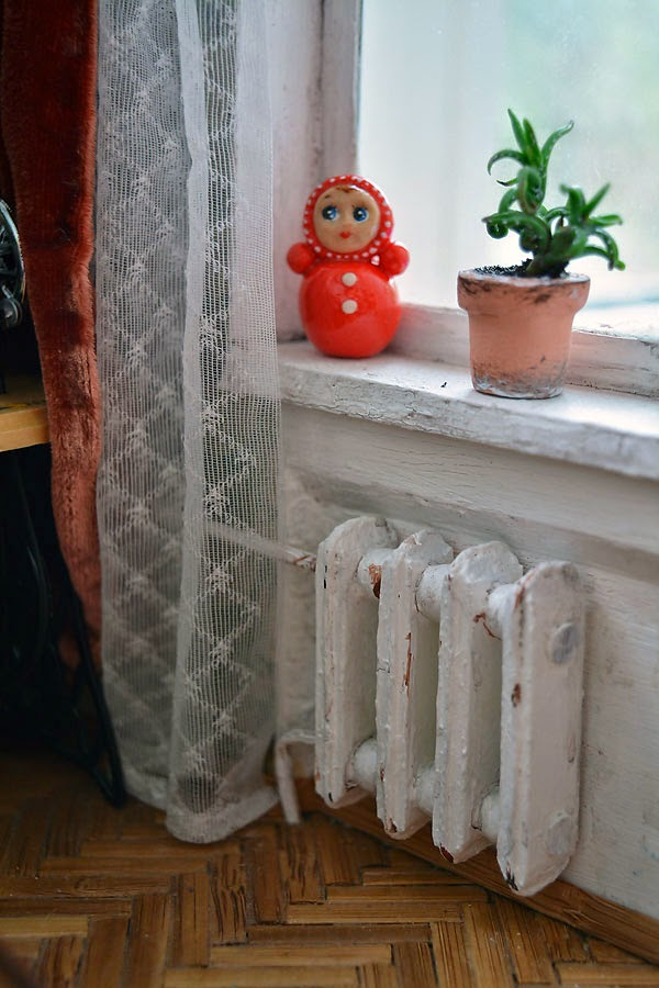 Soviet Russia in miniature: A model of a grandma's flat from 1970s - 24