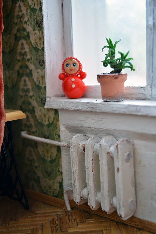 Soviet Russia in miniature: A model of a grandma's flat from 1970s - 25