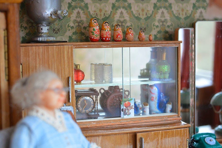 Soviet Russia in miniature: A model of a grandma's flat from 1970s - 29