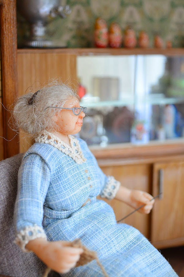 Soviet Russia in miniature: A model of a grandma's flat from 1970s - 03