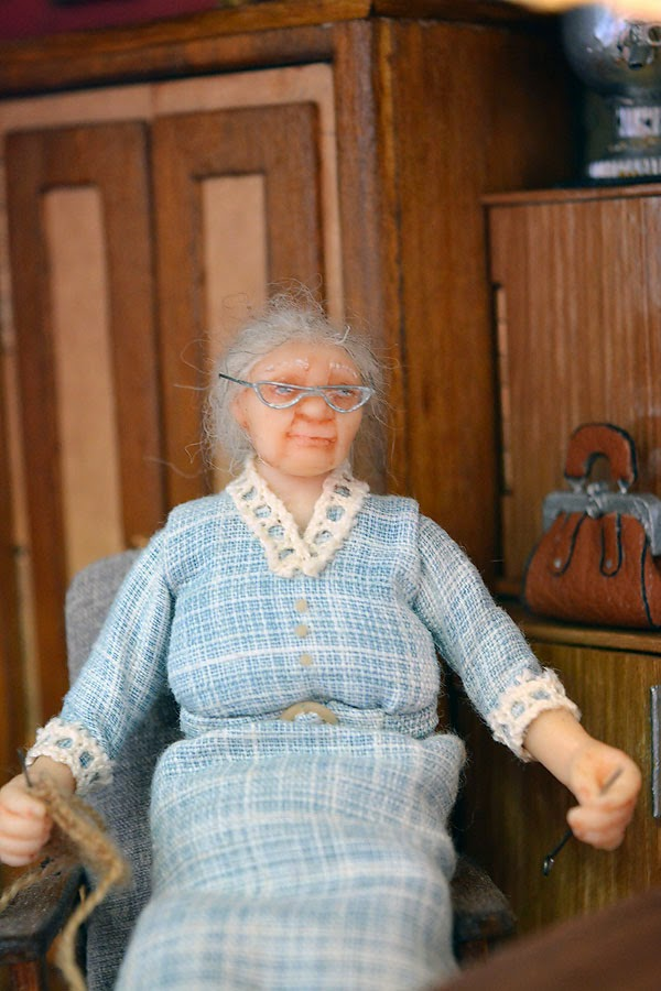 Soviet Russia in miniature: A model of a grandma's flat from 1970s - 05