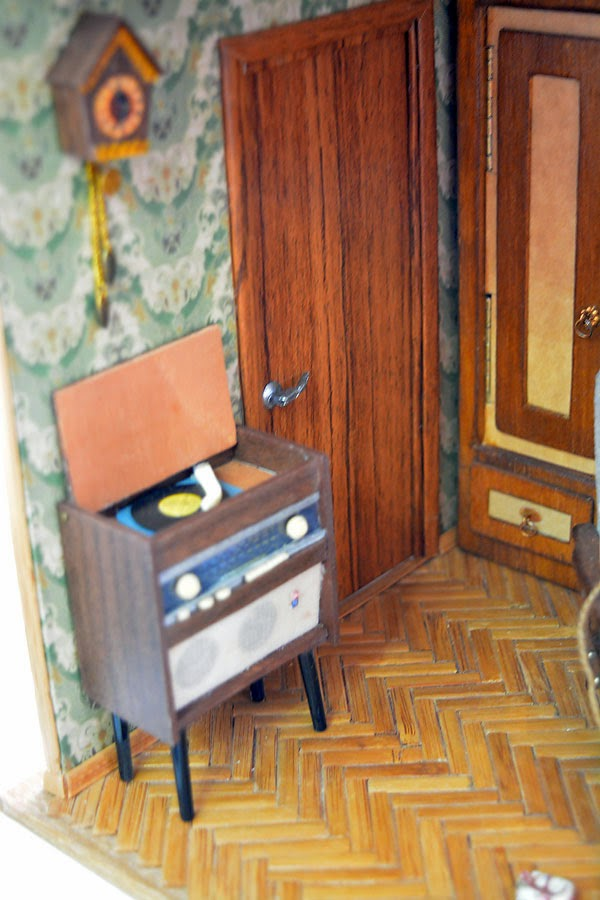 Soviet Russia in miniature: A model of a grandma's flat from 1970s - 07