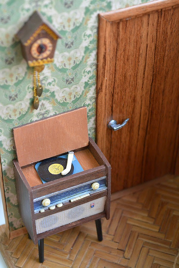 Soviet Russia in miniature: A model of a grandma's flat from 1970s - 08