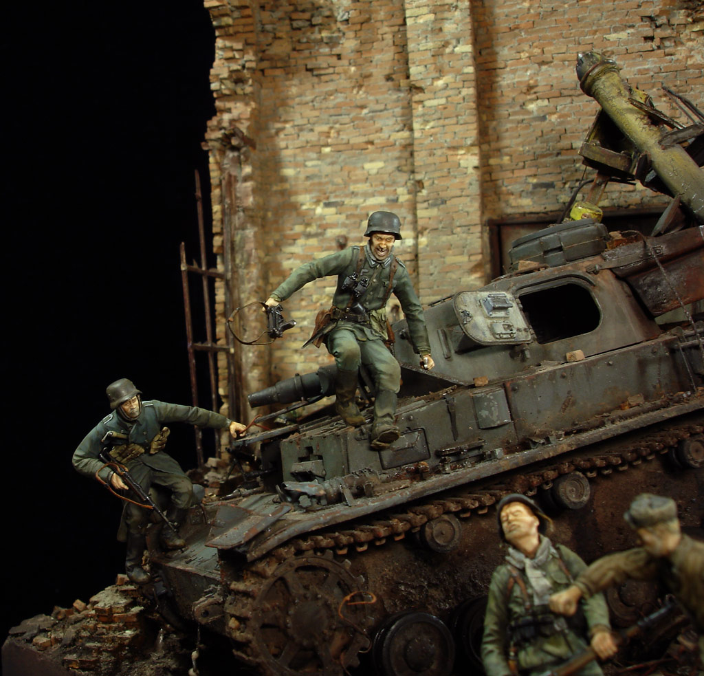 Stalingrad - Berlin: Double model of two moments of World War II - 10