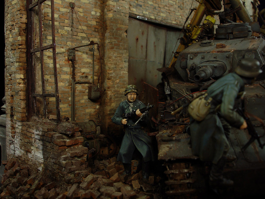 Stalingrad - Berlin: Double model of two moments of World War II - 11