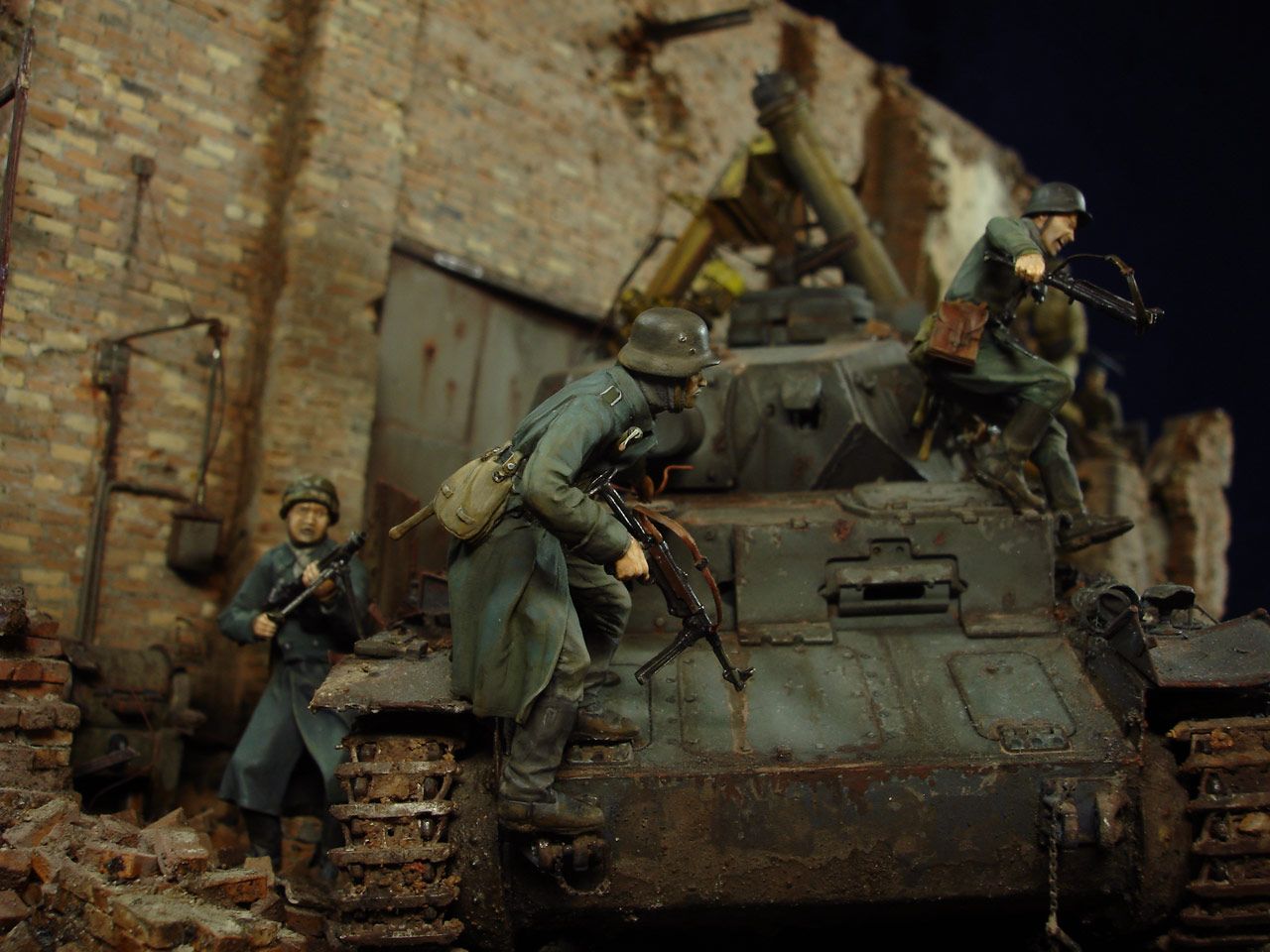 Stalingrad - Berlin: Double model of two moments of World War II - 12