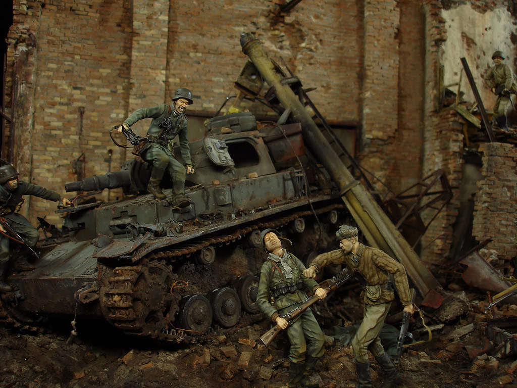 Stalingrad - Berlin: Double model of two moments of World War II - 13