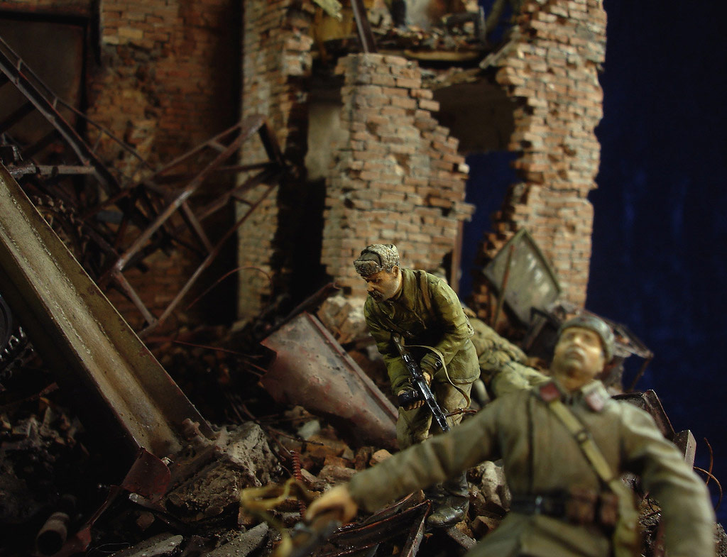 Stalingrad - Berlin: Double model of two moments of World War II - 16