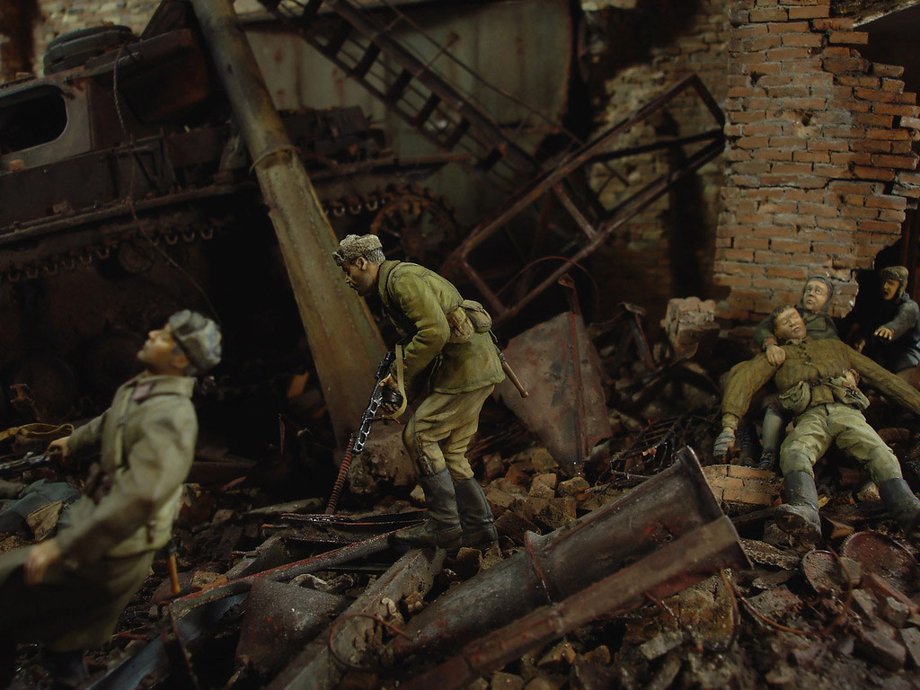 Stalingrad - Berlin: Double model of two moments of World War II - 17