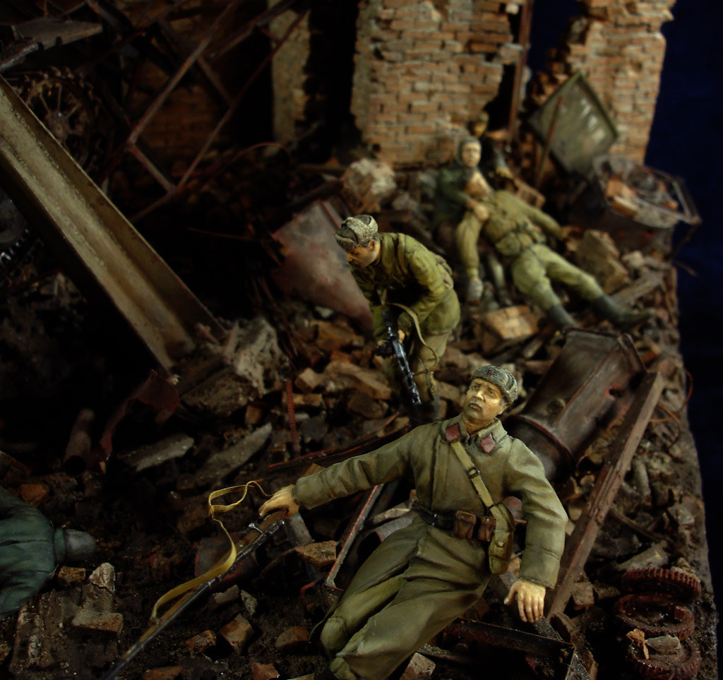 Stalingrad - Berlin: Double model of two moments of World War II - 18