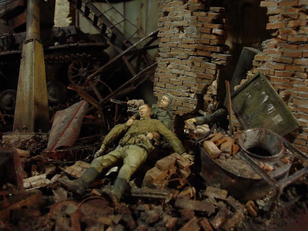 Stalingrad - Berlin: Double model of two moments of World War II - 20