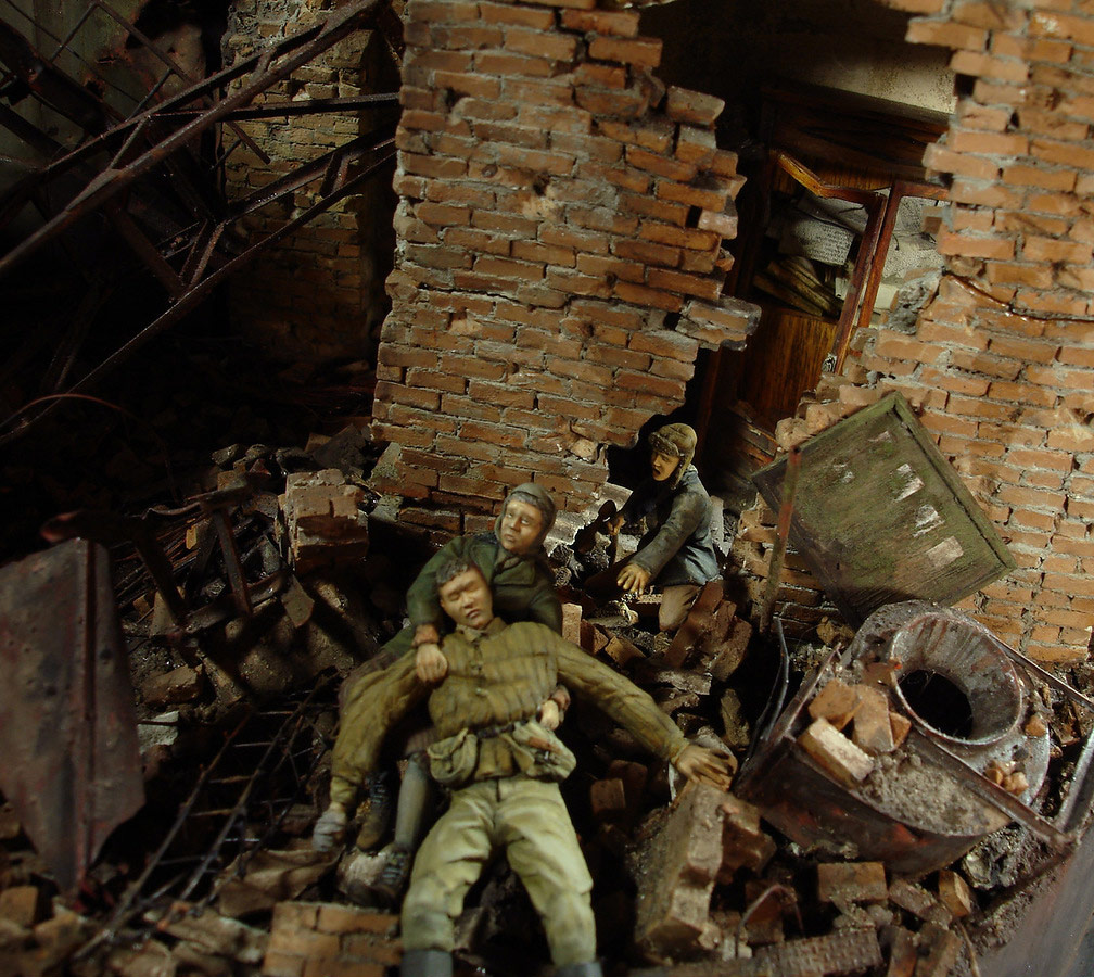 Stalingrad - Berlin: Double model of two moments of World War II - 21