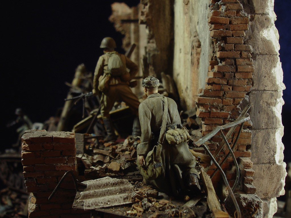 Stalingrad - Berlin: Double model of two moments of World War II - 22
