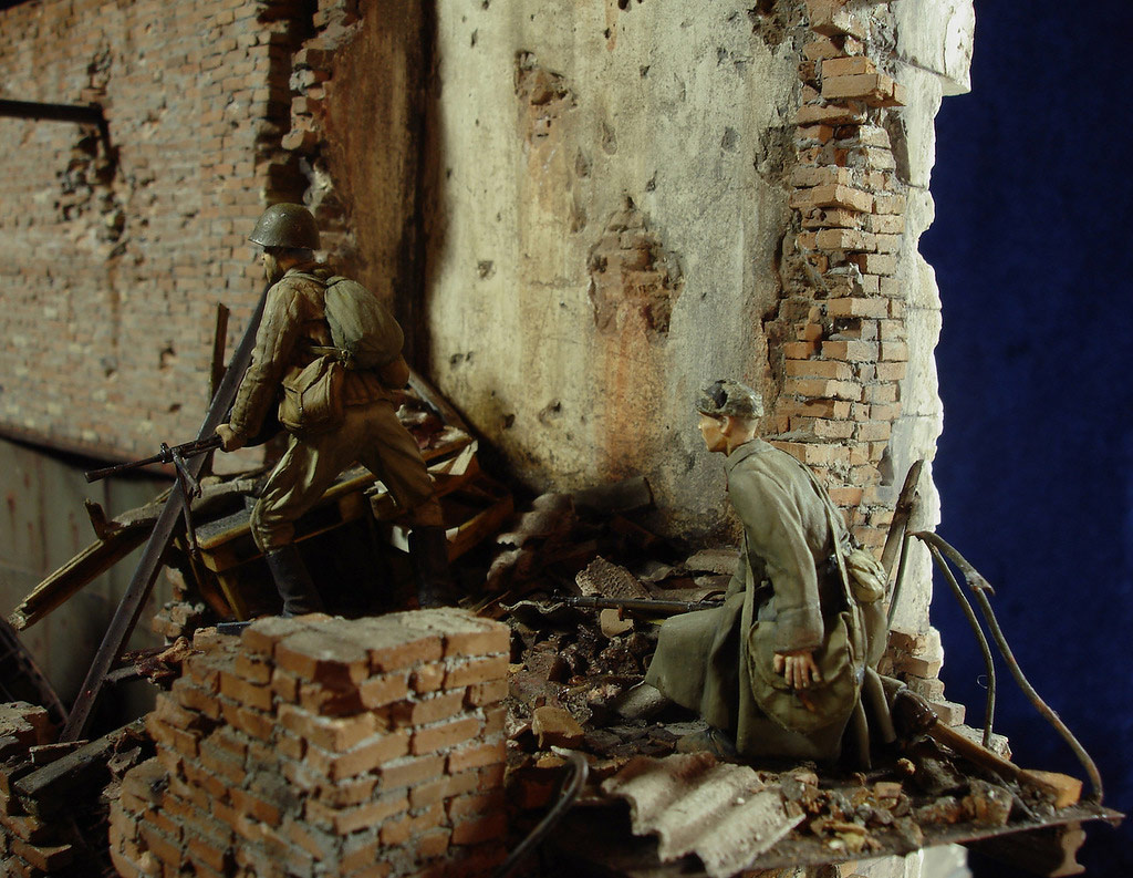 Stalingrad - Berlin: Double model of two moments of World War II - 23