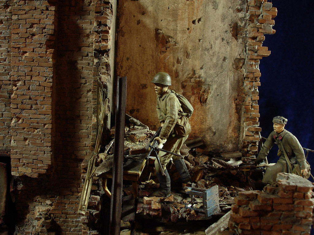 Stalingrad - Berlin: Double model of two moments of World War II - 24