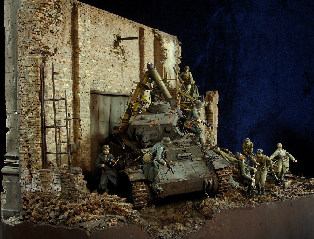 Stalingrad - Berlin: Double model of two moments of World War II - 03