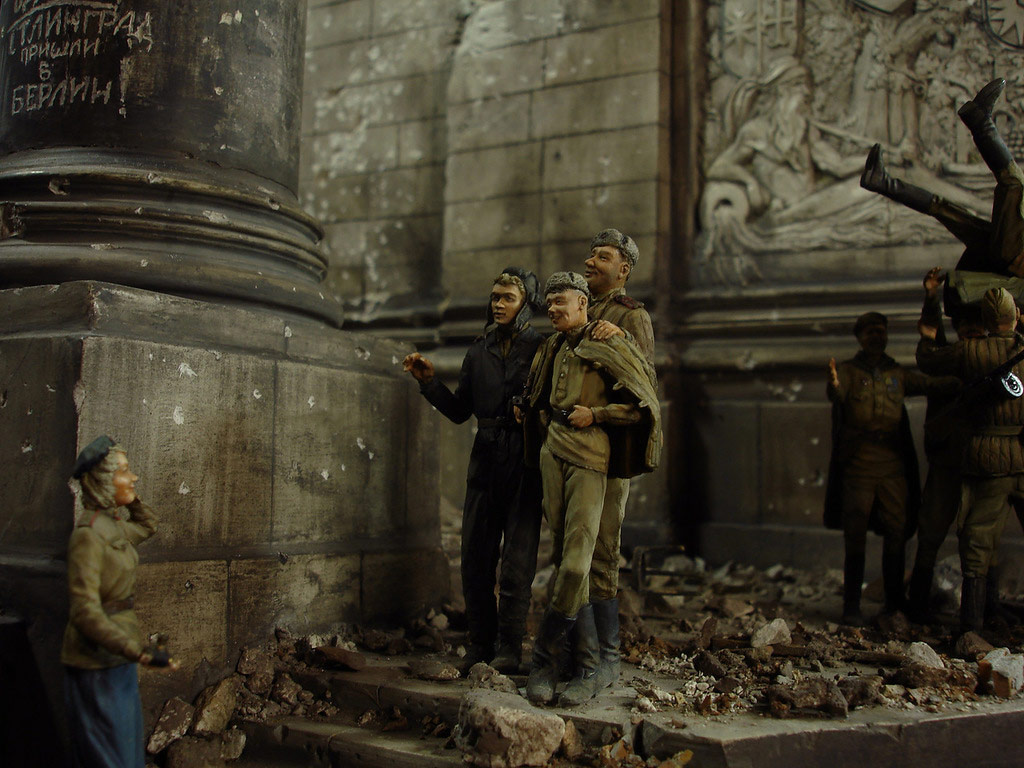 Stalingrad - Berlin: Double model of two moments of World War II - 37