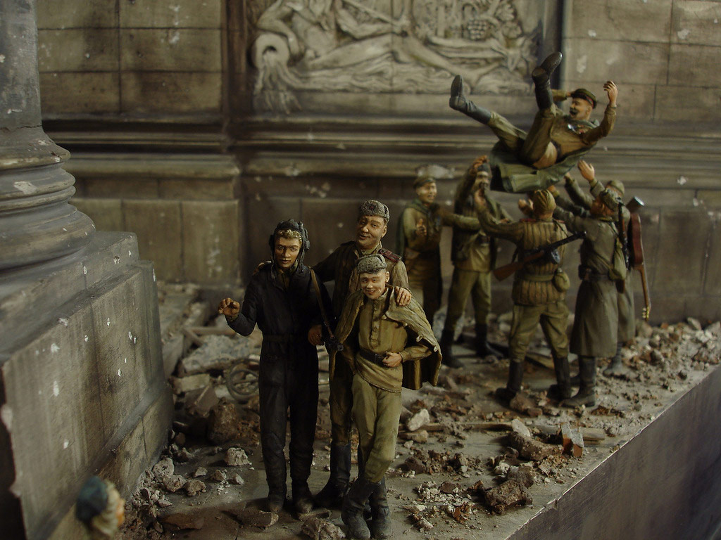 Stalingrad - Berlin: Double model of two moments of World War II - 38