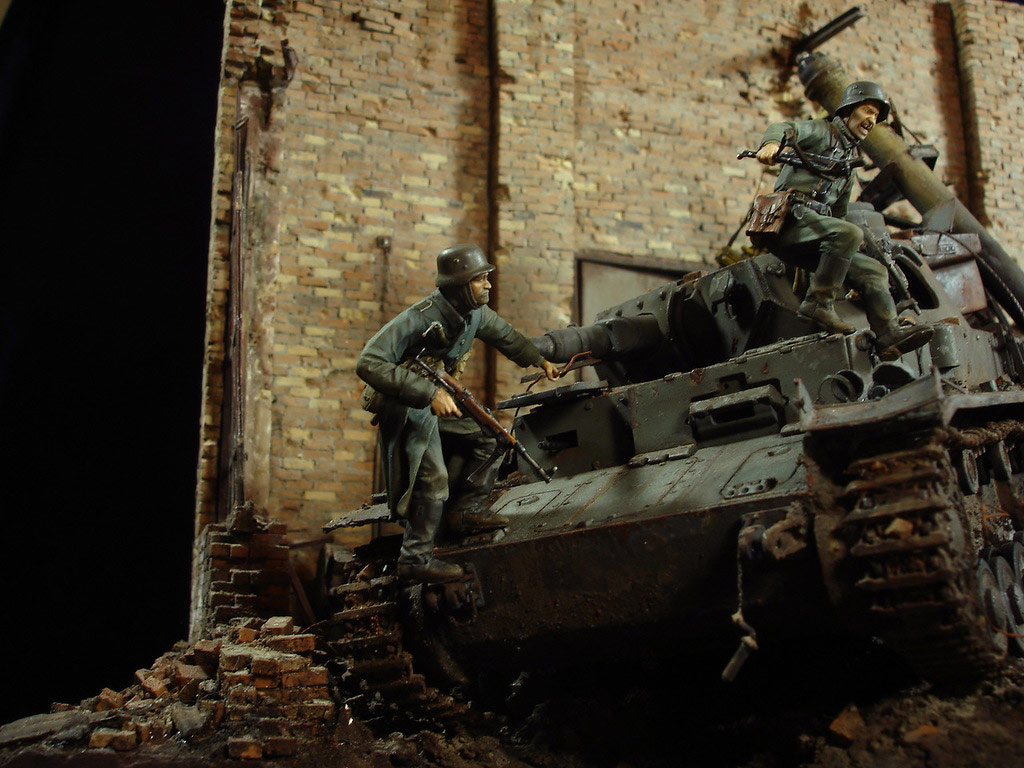 Stalingrad - Berlin: Double model of two moments of World War II - 04
