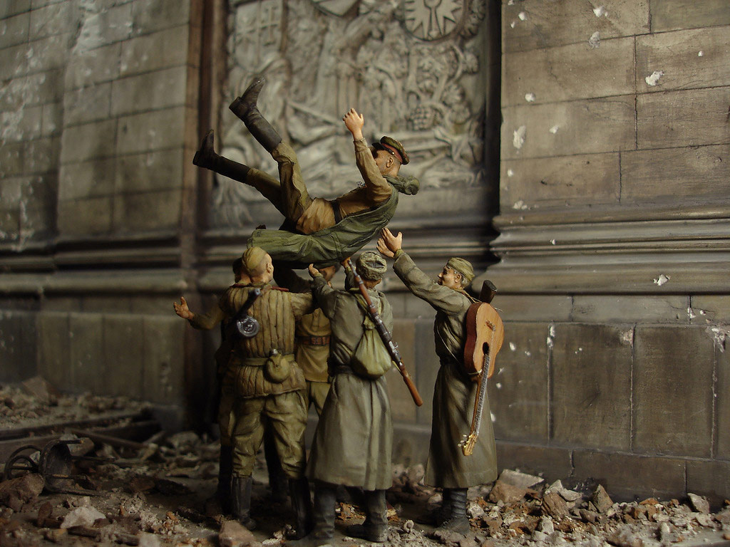 Stalingrad - Berlin: Double model of two moments of World War II - 40