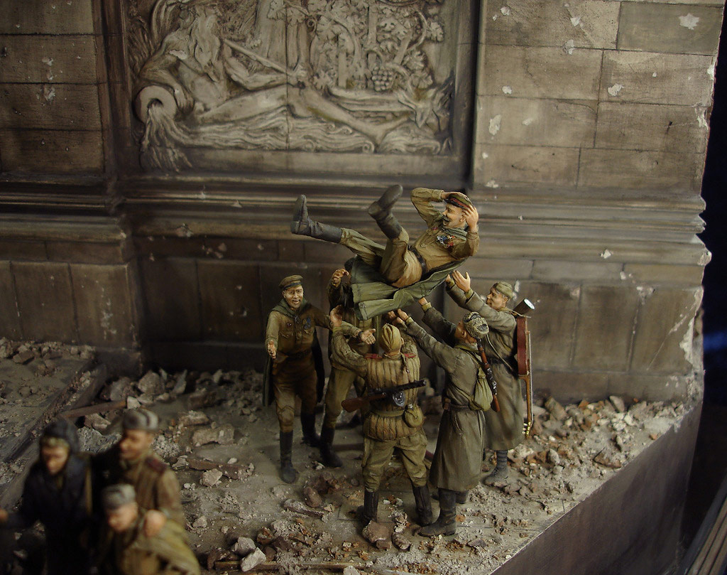Stalingrad - Berlin: Double model of two moments of World War II - 41