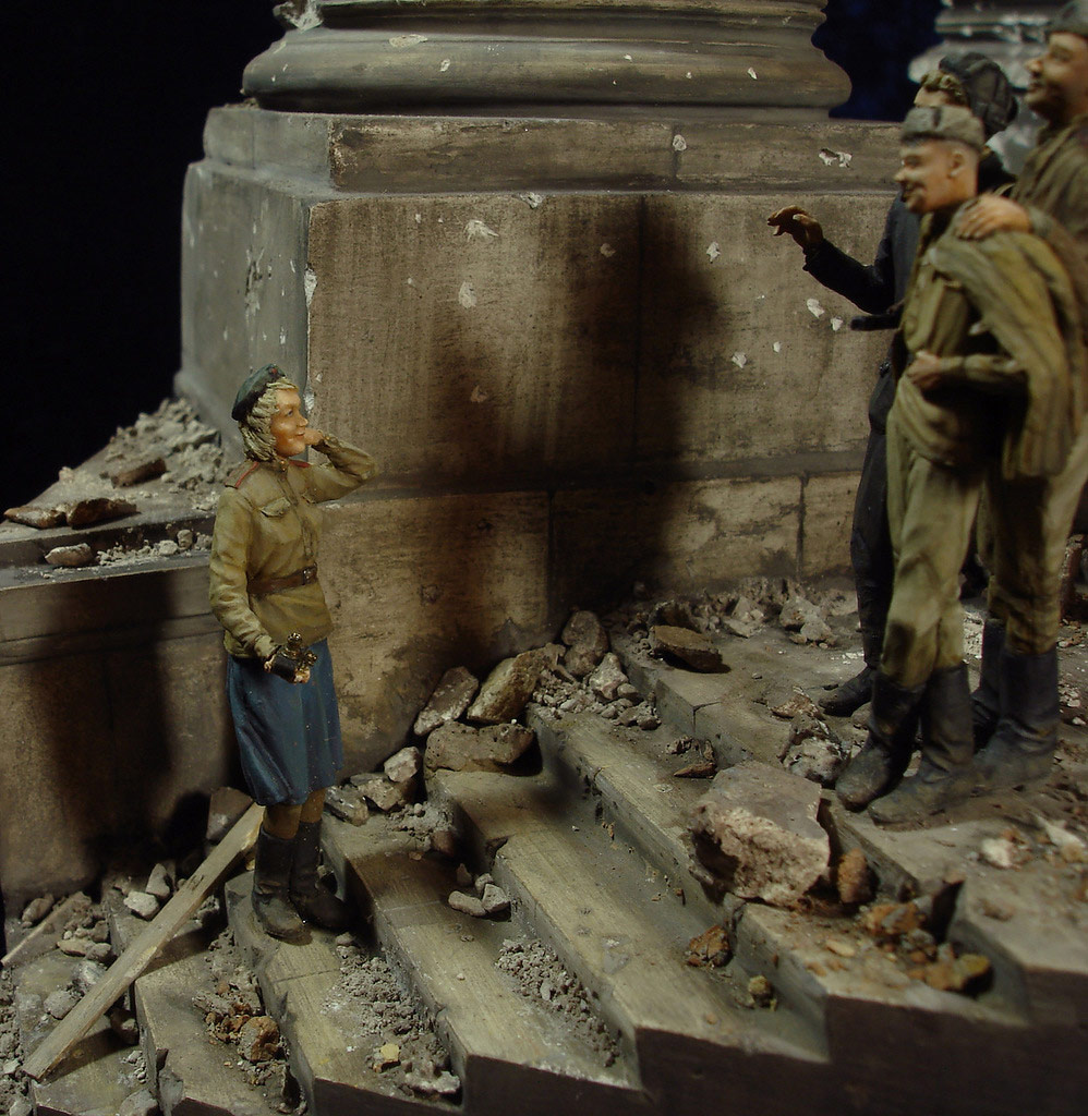 Stalingrad - Berlin: Double model of two moments of World War II - 43