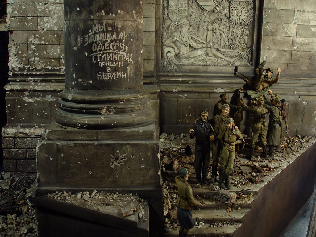 Stalingrad - Berlin: Double model of two moments of World War II - 44
