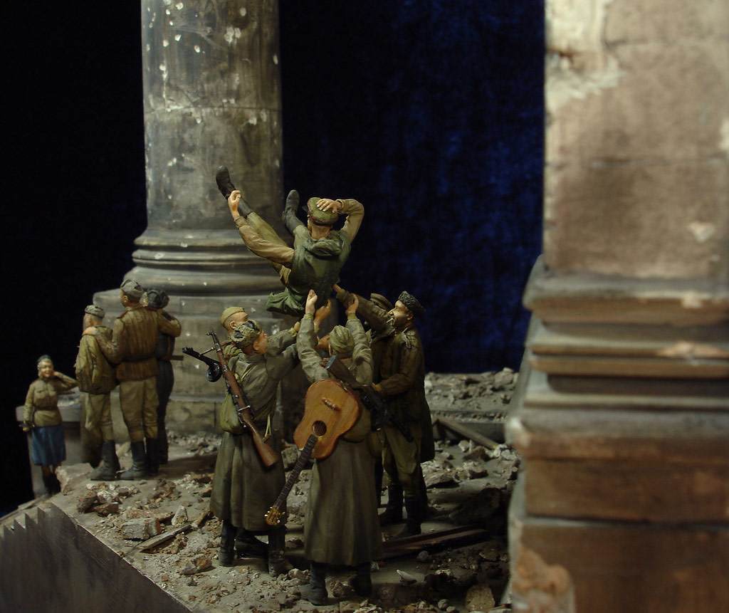 Stalingrad - Berlin: Double model of two moments of World War II - 46