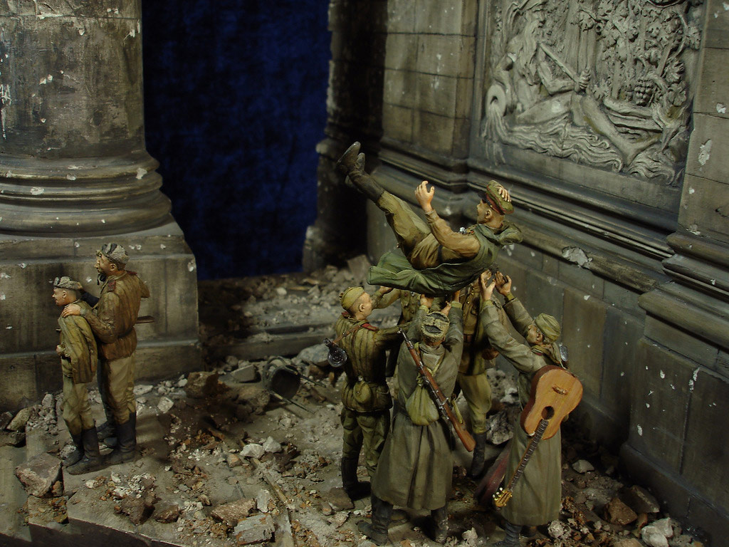 Stalingrad - Berlin: Double model of two moments of World War II - 47