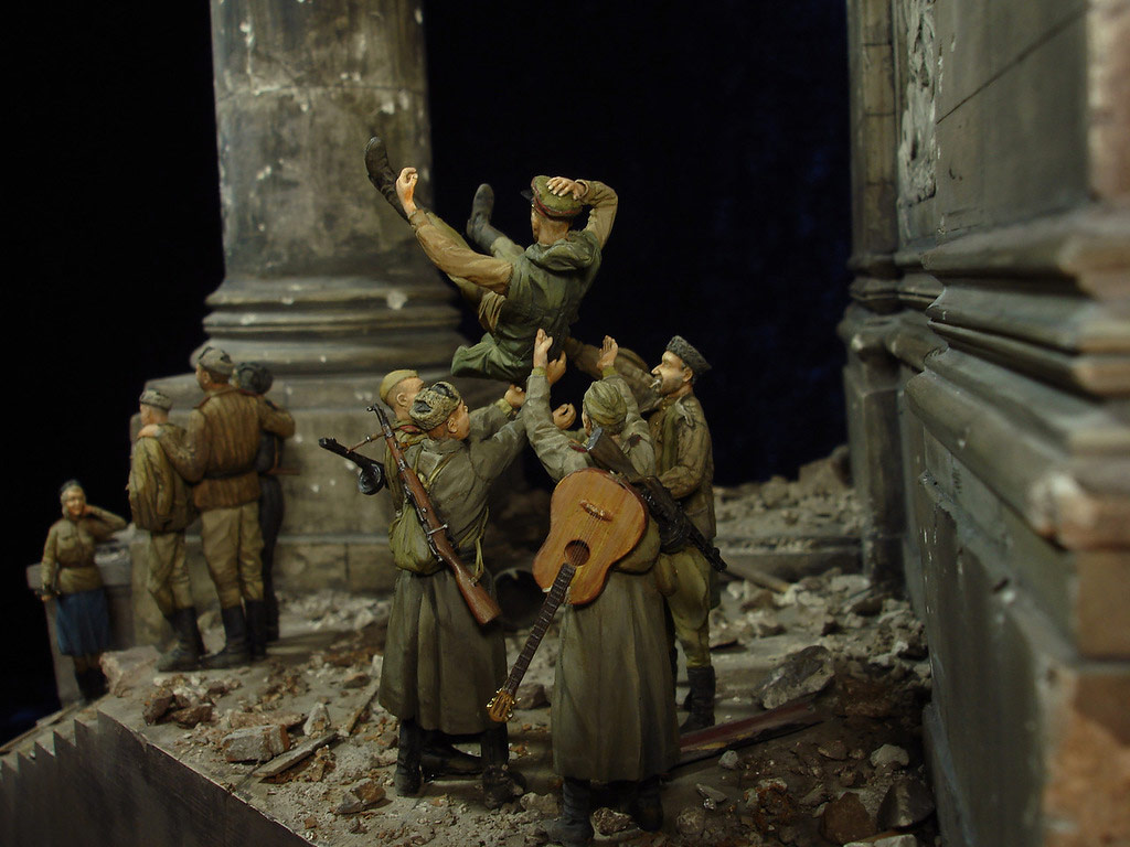 Stalingrad - Berlin: Double model of two moments of World War II - 48