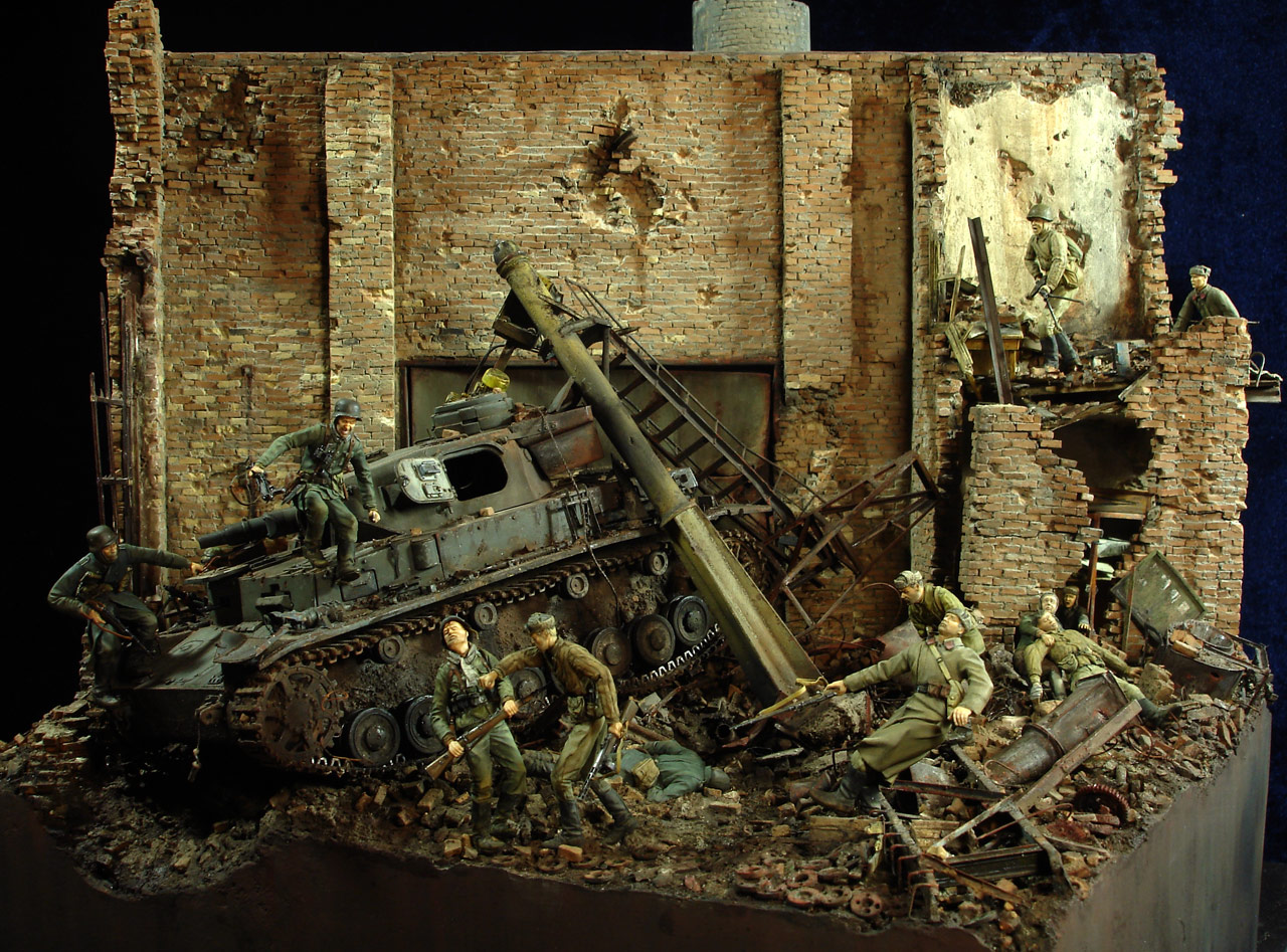 Stalingrad - Berlin: Double model of two moments of World War II - 05